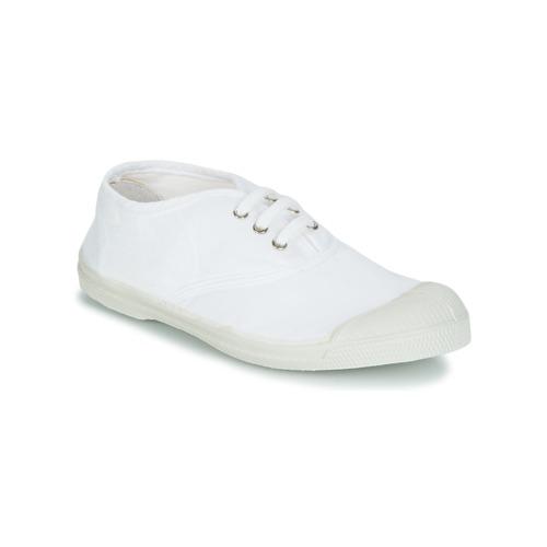 鞋子 儿童 球鞋基本款 Bensimon TENNIS LACET 白色