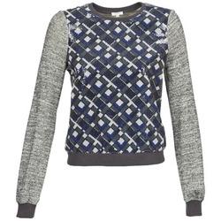 衣服 女士 卫衣 Manoush MOSAIQUE 灰色 / 黑色 / 蓝色