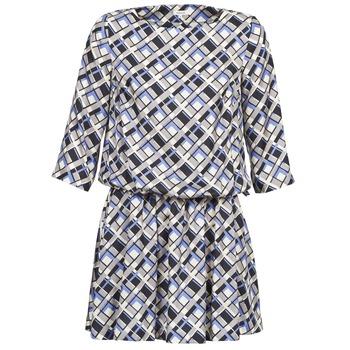 衣服 女士 短裙 Manoush MOSAIQUE 灰色 / 黑色 / 淡紫色