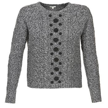 衣服 女士 羊毛衫 Manoush TORSADE 灰色 / 黑色