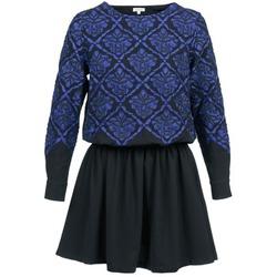 衣服 女士 短裙 Manoush GIRANDOLINE 黑色 / 蓝色