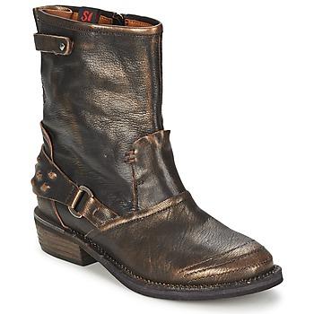 鞋子 女士 短筒靴 Sans Interdit HASHLEY 桂皮色