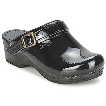 鞋子 女士 洞洞鞋/圆头拖鞋 Sanita FREYA 黑色