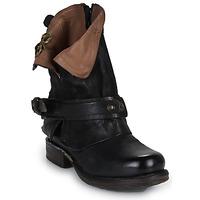 鞋子 女士 短筒靴 Airstep / A.S.98 SAINT BIKE 黑色