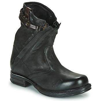 鞋子 女士 短筒靴 Airstep / A.S.98 SAINT METAL ZIP 黑色