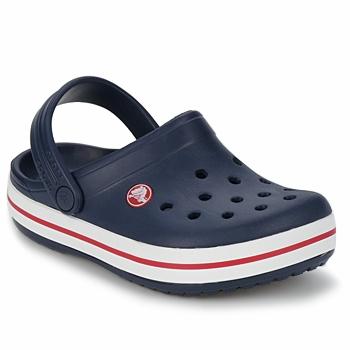 鞋子 儿童 洞洞鞋/圆头拖鞋 crocs 卡骆驰 CROCBAND KIDS 海蓝色