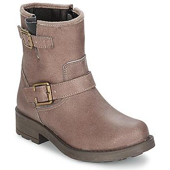 鞋子 女孩 都市靴 Citrouille et Compagnie JENY 灰褐色