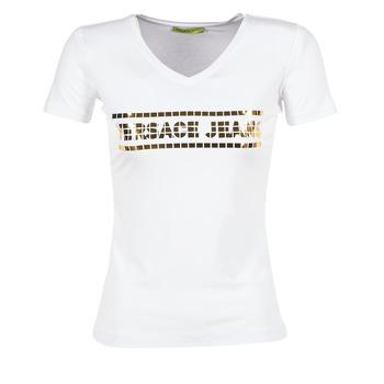 衣服 女士 短袖体恤 Versace Jeans B2HPA7GC 白色