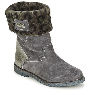 鞋子 女孩 短筒靴 Le Temps des Cerises JUNIOR EVA 灰色