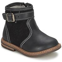 鞋子 男孩 短筒靴 Citrouille et Compagnie LOOPI 黑色