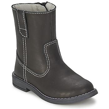 鞋子 男孩 都市靴 Citrouille et Compagnie EMALI 黑色