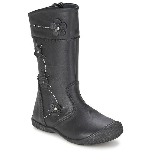 鞋子 女孩 都市靴 Citrouille et Compagnie AMATIS 黑色
