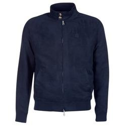 衣服 男士 皮夹克/ 人造皮革夹克 Serge Blanco FIDENZA 海蓝色