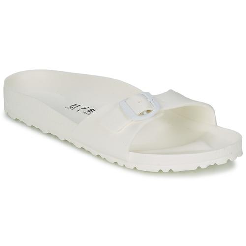 鞋子 女士 休闲凉拖/沙滩鞋 Birkenstock 勃肯 MADRID EVA 白色
