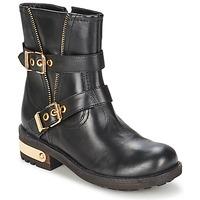鞋子 女士 短筒靴 Elle RASPAIL 黑色