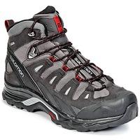 鞋子 男士 登山 Salomon 萨洛蒙 QUEST PRIME GTX® 灰色 / 黑色 / 红色