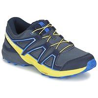 鞋子 儿童 多项运动 Salomon 萨洛蒙 SPEEDCROSS J 蓝色 / 黄色