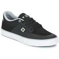 鞋子 男士 球鞋基本款 DC Shoes WES KREMER M SHOE XKSW 黑色 / 灰色 / 白色