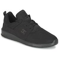 鞋子 男士 球鞋基本款 DC Shoes HEATHROW M SHOE 3BK 黑色