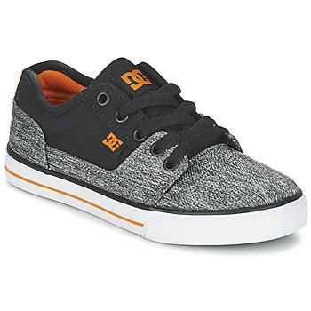 鞋子 男孩 球鞋基本款 DC Shoes TONIK TX SE B SHOE BGY 黑色 / 灰色 / 橙色