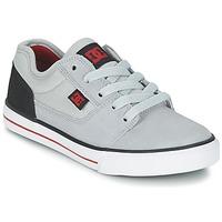 鞋子 男孩 球鞋基本款 DC Shoes TONIK B SHOE XSKR 灰色 / 黑色 / 红色
