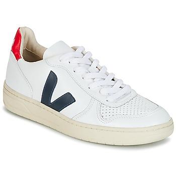 鞋子 球鞋基本款 Veja V-10 白色 / 蓝色 / 红色