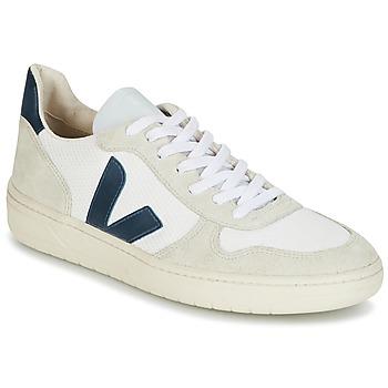鞋子 男士 球鞋基本款 Veja V-10 白色 / 蓝色
