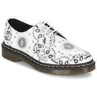 鞋子 德比 Dr Martens 1461 白色 / 黑色