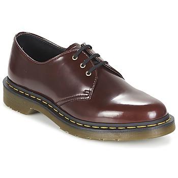 鞋子 女士 德比 Dr Martens VEGAN 1461 红色 / 樱桃红