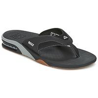 鞋子 男士 人字拖 Reef FANNING 黑色 / 灰色