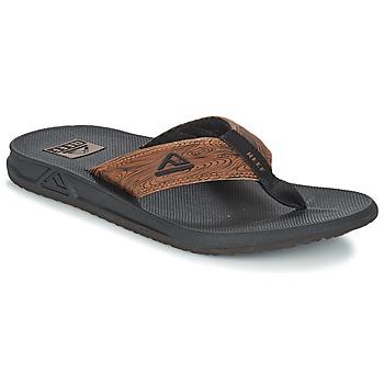 鞋子 男士 人字拖 Reef PHANTOM PRINTS 黑色 / 棕色