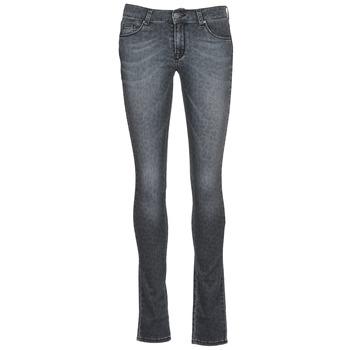 衣服 女士 紧身牛仔裤 Cimarron LANA 灰色
