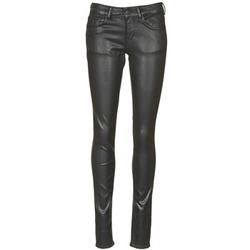 衣服 女士 紧身牛仔裤 Cimarron ROSIE JEATHER 黑色