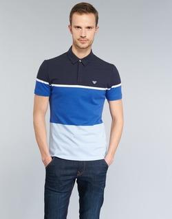 衣服 男士 短袖保罗衫 Armani jeans MARAFOTA 蓝色