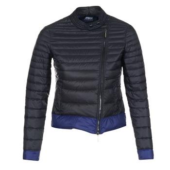 衣服 女士 羽绒服 Armani jeans BEAUJADO 黑色 / 蓝色