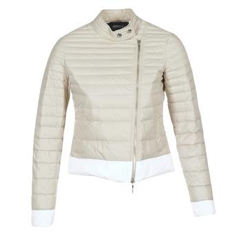 衣服 女士 羽绒服 Armani jeans BEAUJADO 米色 / 白色