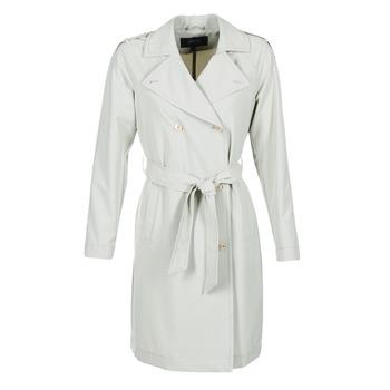 衣服 女士 风衣 Armani jeans HAVANOMA 白色