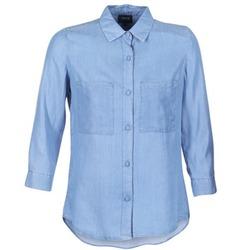 衣服 女士 衬衣/长袖衬衫 Armani jeans OUSKILA 蓝色