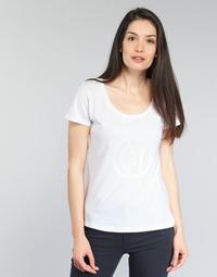 衣服 女士 短袖体恤 Armani jeans LASSERO 白色