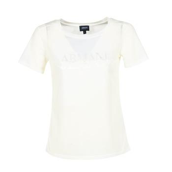 衣服 女士 短袖體恤 Armani jeans KAJOLA 白色