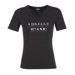 衣服 女士 短袖体恤 Armani jeans JAGONA 黑色