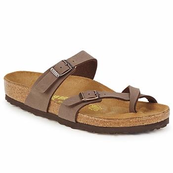 鞋子 女士 休闲凉拖/沙滩鞋 Birkenstock 勃肯 MAYARI 咖啡色