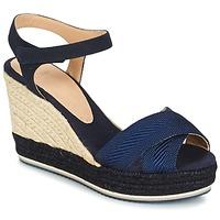 鞋子 女士 凉鞋 Castaner VERONICA 海蓝色 / 黑色