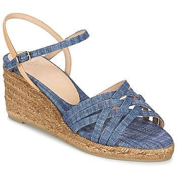 鞋子 女士 凉鞋 Castaner BETSY 蓝色 / 米色