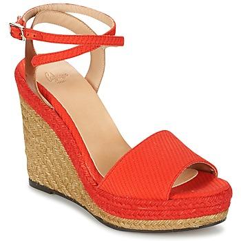 鞋子 女士 凉鞋 Castaner ADELA 红色