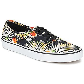 鞋子 球鞋基本款 Vans 范斯 AUTHENTIC 黑色 / 印花 / Tropical