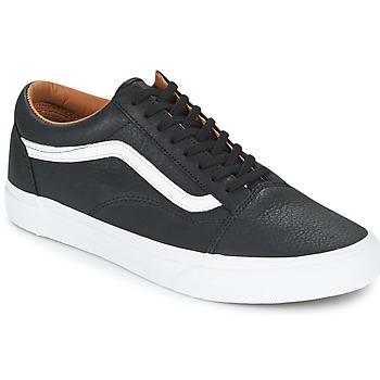 鞋子 男士 球鞋基本款 Vans 范斯 OLD SKOOL 黑色 / 白色