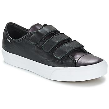 鞋子 女士 球鞋基本款 Vans 范斯 PRISON ISSUE 黑色