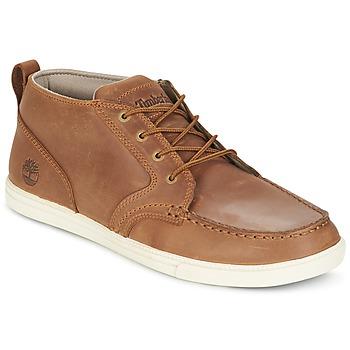 鞋子 男士 球鞋基本款 Timberland 添柏岚 FULK LP CHUKKA MT LEATHER 棕色