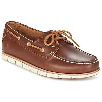 鞋子 男士 船鞋 Timberland 添柏岚 TIDELANDS 2 EYE 棕色